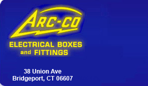 ARC-CO Electrical Boxes and Fittings - Call 203-366-3874