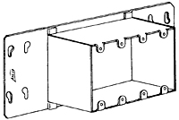 Special Raised Gang Box Adaptor Covers Arc-Co Step Down Series